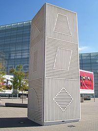 Sol LeWitt, Tower, Figge Art Museum, Davenport, Iowa, USA, 1984