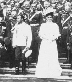 """Nicholas II and Alexandra Feodorovna, ca. 1912-1913 """