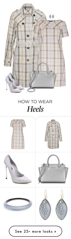 """set"" by vesper1977 on Polyvore featuring Barbour, Casadei, Michael Kors and Alexis Bittar"