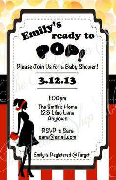 Baby shower invitation ready to pop printable qtprints pinterest baby shower invitation ready to pop printable qtprints pinterest shower invitations babies and babyshower filmwisefo
