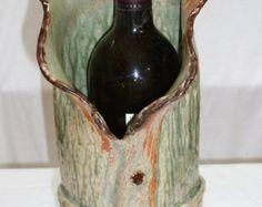 Wein Kühler/Küche Utensil Halter/Eiskübel/Keramik von joycepottery