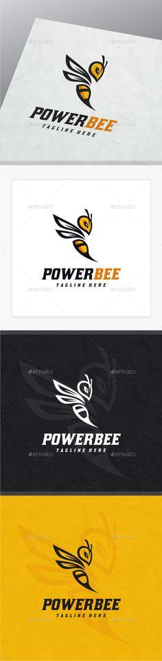 Bee Logo - Animals Logo Templates