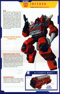 Transformer of the Day: Inferno