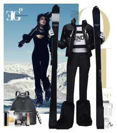 """""""Mount Everest"""" by eleonoragocevska ❤ liked on Polyvore featuring Fendi, Chanel, Tom Ford, Yves Saint Laurent, Sergio Rossi, Blue Nile, women's clothing, women's fashion, women and female"""