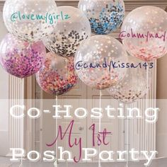 Co-hosting March 12 I can't begin to tell you all how ecstatic I am! After 3 years of Poshing, I'll finally co-host a Posh Party!    March 12th  Time: 12pm PT/3pm EST  Theme: TBA    Co-hosting with @candykissa143 and @lovemygirlz    Please feel free to tag your PFF's. I can't wait to meet them and discover their closets*.   *I'll be choosing host picks from complaint closets only. Other