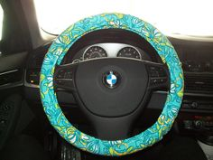 Delta Delta Delta Lilly Pulitzer Steering Wheel Cover by mammajane, $27.50