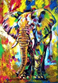 Buy Majestic elephant  (70 x 50 cm), Acrylic painting by Kovács Anna Brigitta on Artfinder. Discover thousands of other original paintings, prints, sculptures and photography from independent artists.