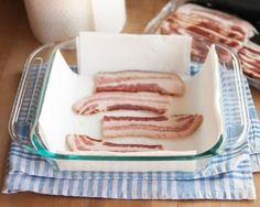 26 Ways You're Not Using Your Microwave To Its Full Potential - cook bacon in the microwave!