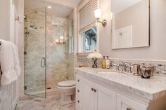 Larchmont waterfront 10 baths, gut restoration, kitchen, formal and casual space - Transitional - Bathroom - New York - by Sunrise Building & Remodeling Inc