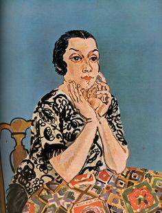 Raoul Dufy — Portrait of Mrs. Dufy, Raoul DufyMedium:...