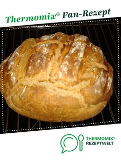 Mixed bread Ruck Zuck (without letting go) by A Thermomix ® recipe from . Pampered Chef, Snacks Pizza, Nutella, Bread Bun, Macaron, Mole, Pizza Hut, Cake Recipes, Food And Drink
