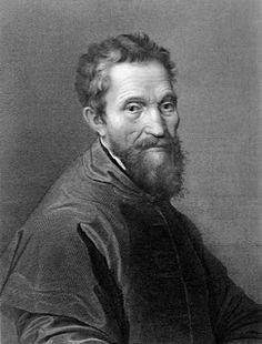 Michelangelo Di Lodovico Buonarroti Simoni...Michelangelo, born in Caprese near…