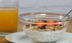 I found a great recipe for Nuts and Fruit Swiss Muesli