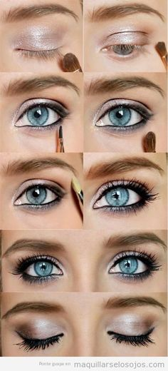 hermosa maquillaje ojos azules mejores equipos