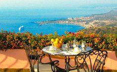 Mediterranean terrace - Villa Ducale in Taormina