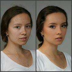😍😍 Фото с урока по Базовому курсу Визажист. До и после  😄😀😆😏 Скорректированы все недостатки лица нашей модели. Отлично прорисована линия бровей. Прекрасное преображение. Нельзя не отметить, насколько выразительнее стали глаза.  Ждем Ваших комментариев!  #студиямариныянгильдиной #макияждоипосле #допосле #доипослемакияжа #фотодоипосле #yangildinamakeupstudio #yangildina_st #makeup #визаж #мейкап #макияжмосква #курсымакияжа #курсывизажа #курсывизажистов #визажиствмоскве…