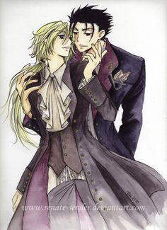 Tsubasa Reservoir Chronicles ~~~ Fanart of Kurogane and Fai