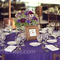 Clock Table Numbers