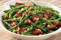 Green Bean, Bacon & Shallot Saute recipe BACON BACON BACON!
