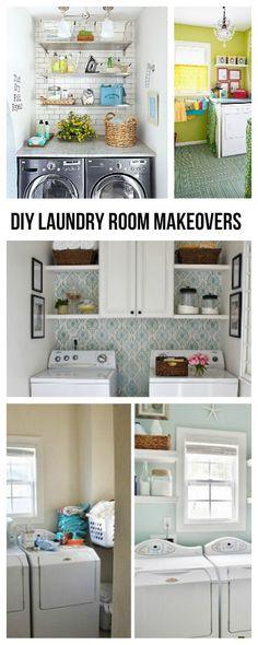 DIY Laundry Room Makeovers • Ideas, Tips & Tutorials!