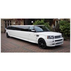 Hire Range Rover Sport Limo   Limousine Hire in Manchester, Leeds,... ❤ liked on Polyvore featuring cars and travel