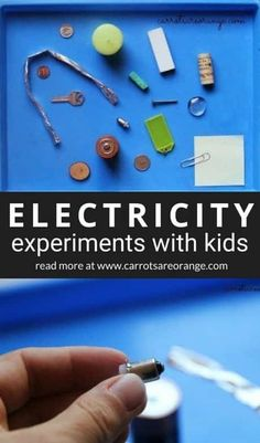 Learn easy electricity experiments with kids! # electricity experiments for kids Electricity Experiments with Kids: Super Simple Science Activities Science Experiments For Preschoolers, Cool Science Experiments, Preschool Science, Science Lessons, Science For Kids, Summer Science, Science Classroom, Earth Science, Preschool Lessons