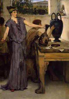 Pottery Painting, Sir Lawrence Alma-Tadema