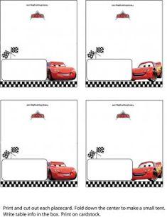 41 Best Disney S Quot Cars Quot Party Printables Images Disney