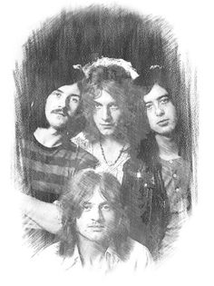 Led Zeppelin artwork by Christopher William Easdon