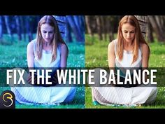 If you are having problems with the colour cast of your photos, you need to think about your white balance. We show you the easy way to correct your white balance in Photoshop. Photoshop For Photographers, Photoshop Tips, Photoshop Design, Photoshop Photography, Photoshop Tutorial, Photography Camera, Creative Photography, Lightroom, Landscape Photography Tips