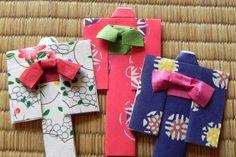 浴衣の後ろ姿の写真 Origami Cards, Origami And Kirigami, Paper Crafts Origami, Diy Paper, Tape Crafts, Crafts To Do, Diy Crafts, Origami Design, Craft Work For Kids