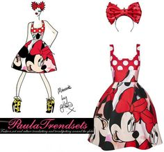 Giles Deacon Inspired by Minnie Mouse