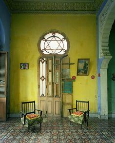 Yellow Room, Havana,  photography by Michael Eastman