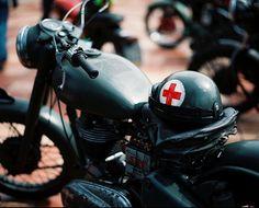 Medic's bike