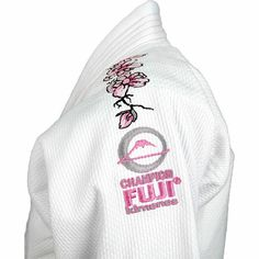 Fuji Women's Pink Blossom Gi,White -- I swear when I am higher ranking, this will be in my wardrobe!! Loooove