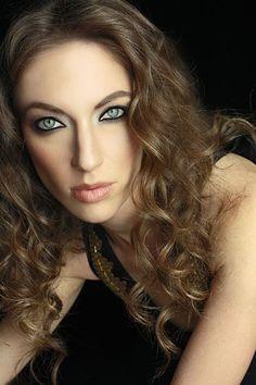 #smokeyeye Birgit  #Photography #Beauty #Portfolio #Headshot #Model #Fashion #Print #Followme http//:MargaretKimura.com #Makeup #hair