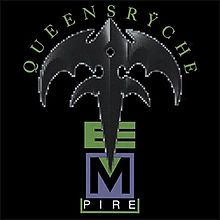 Queensryche - Empire great design featuring the band's iconic symbol.