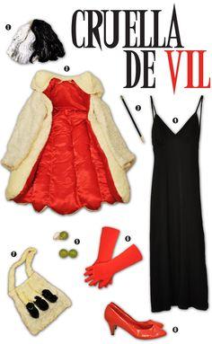 Creative Soul Spectrum: Cruella De Vil Costume