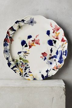 Jen Garrido Wildflower Study Dinner Plate
