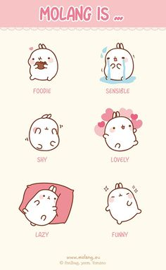 molang! This somewhat fits my personality...haha.