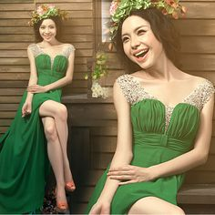 Show new girls photo photography wedding green snowflake studio theme clothing couple installed photo dress