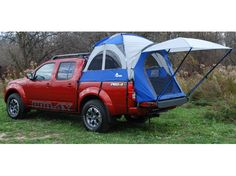 The Sportz 57 Series Truck Tent by Napier Outdoors, the selling truck tent in the world is launching a new size! Available in March this tent is designed to t compact crew cab trucks with beds. The Sportz 57 Series Truck Tent, Model No. Auto Camping, Off Road Camping, Truck Camping, Tent Camping, Campsite, Camping Gear, Nissan Navara, Navara D40, Nissan 4x4