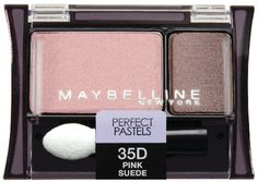 Maybelline New York Expert Wear Eyeshadow Duos, Pink Sued