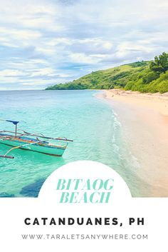 Bitaog Beach in Palumbanes Islands, Catanduanes