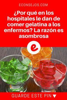 Beneficios de gelatina | ¿Por qué en los hospitales le dan de comer gelatina a los enfermos? La razón es asombrosa | Ahora que lo pienso, tiene mucho sentido.