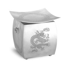 funerary urn / silver / design & made by gongplus+