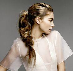 ¡Los peinados desenfadados son lo de hoy! ¡Son cómodos y se ven súper fashion!