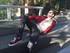 Kevin McHale News Kevin Mchale, Glee, Bean Bag Chair, Leather Pants, News, Fashion, Leather Jogger Pants, Moda, Fashion Styles