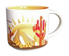 Starbucks Phoenix You Are Here Collection Mug