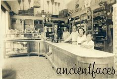 The days before Safeway. Checkout this wine & general store in Cuba taken in 1938. Love the expression on the boy's face. Thanks for sharing Concepcion! More: http://www.ancientfaces.com/photo/los-granas/1254495/